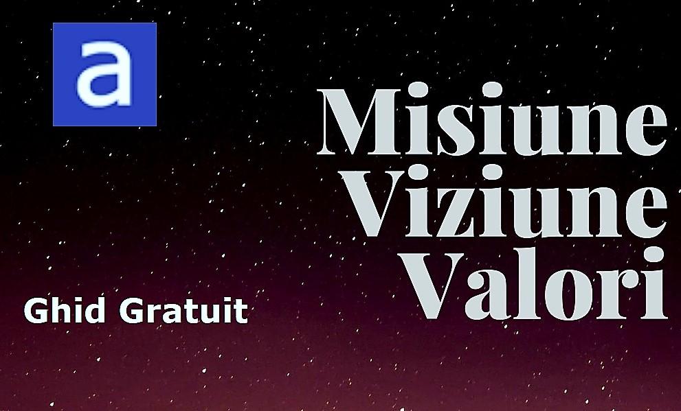 Viziune, misiune si valori - Site-uri de viziune