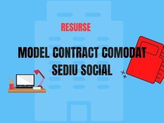 Contract comodat sediu social