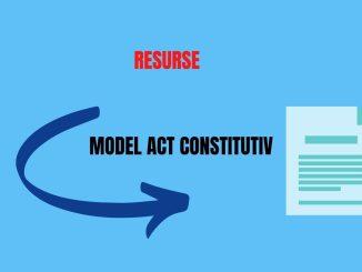 Actul constitutiv